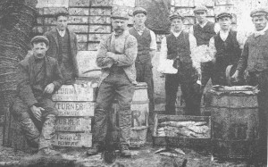 Barbican turner's fish packers plymouth 1908