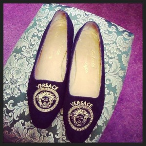 Luna Chic - Versace Shoes